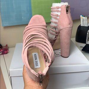 Steve Madden Shoes - Steve Madden Liana Mauve Suede heels